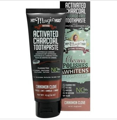 Toothpaste Charcoal from My Magic Mud CINNAMON & CLOVE