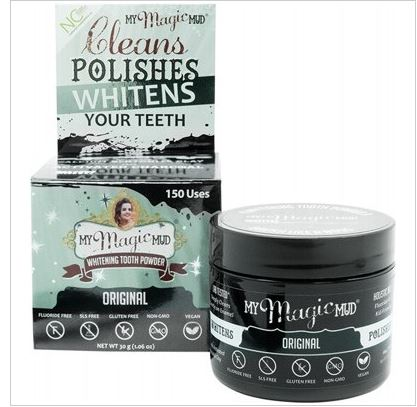 Whitening Tooth Powder by My Magic Mud