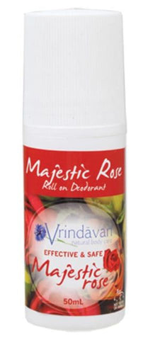Roll-On deodorant from Vrindaven- Majestic Rose