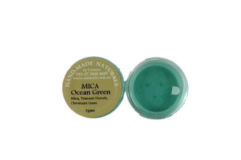 Mica Natural Colourant- OCEAN GREEN