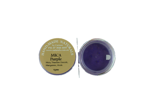 Mica Natural Colourant- PURPLE