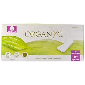 Organic Ultra Thin Panty Liners (Light Flow) - Organyc