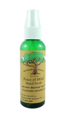 Hand Sanitiser 'Peace of Mind' by Handmade Naturals