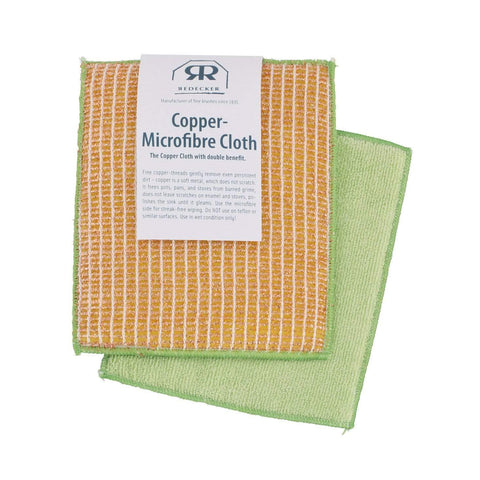 Copper Microfibre Cloth by Redecker