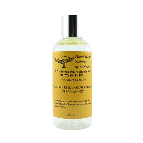 Reed Diffuser Fluid - 'Fresh' Blend by Handmade Naturals