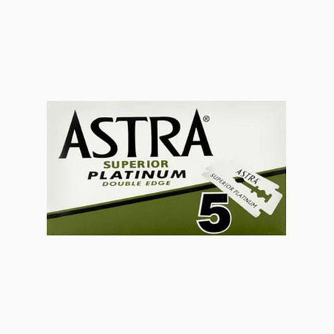 Astra Superior Platinum Blades for Safety Razor