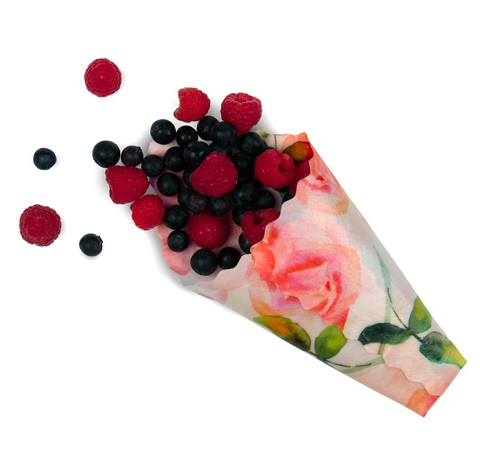 Re-useable Beeswax Food Wraps (1 x Small) By Bee Love Wraps