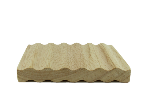 Soap Dish- Wooden Wave Design