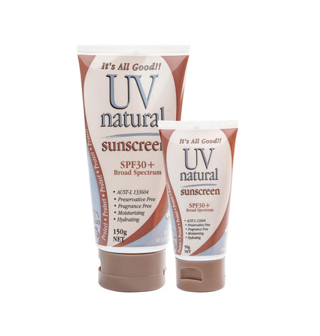 UV Natural Sunscreen 30+