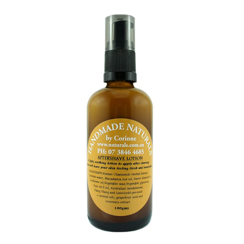 After Shave Lotion from Handmade Naturals
