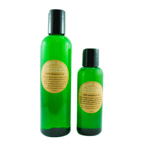 Baby Massage Oil from Handmade Naturals