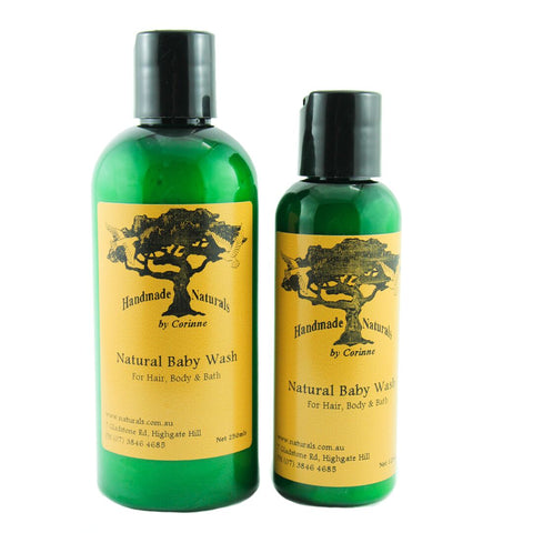 All Natural Baby Wash (Hair, Body, Bath) from Handmade Naturals