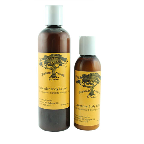 Macadamia & Evening Primrose Body Lotion w/Lavender from Handmade Naturals