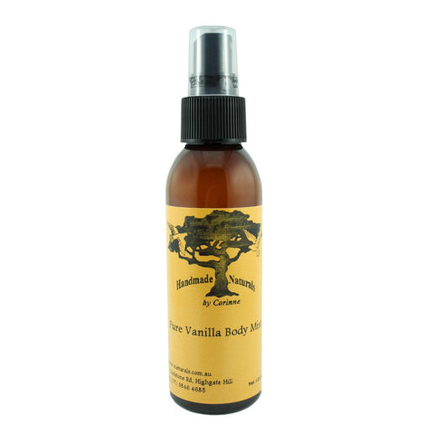 Body Mist VANILLA from Handmade Naturals