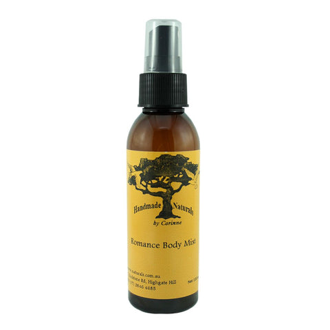 Body Mist ROMANCE from Handmade Naturals