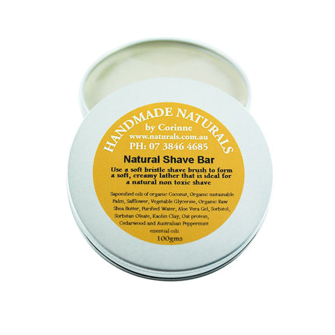 Shave Bar from Handmade Naturals
