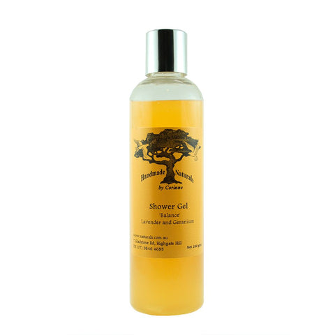 Natural Shower Gel (Balance) from Handmade Naturals