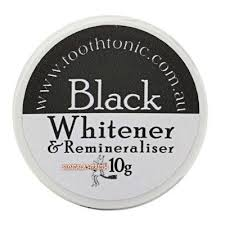 Black Teeth Whitener and Remineraliser by Tooth Tonic