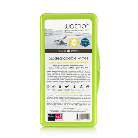 Biodegradable Baby Wipes from WotNot- Travel pack