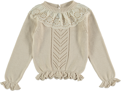 The New Society Natural Garance Knitted Sweater