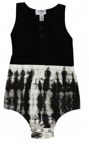 Crew Kids Black Romper