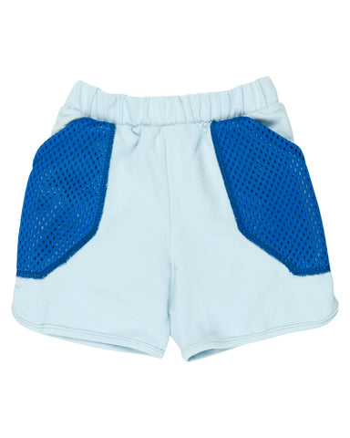 Wauw Capow Light Blue Inside Out Shorts