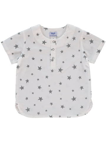 P & P Grey Stars Boy Shirt