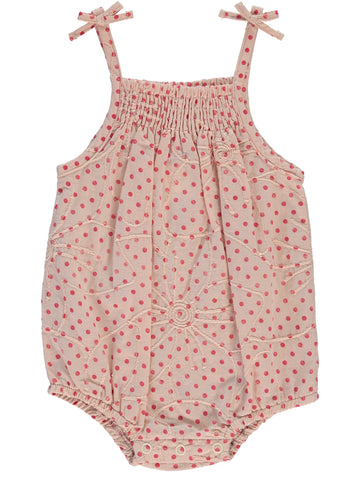 P & P Dot Bubble Romper