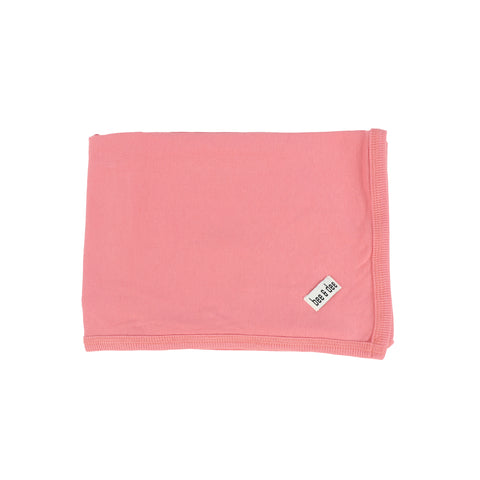 Bee and Dee Wrap Rose Pink Blanket