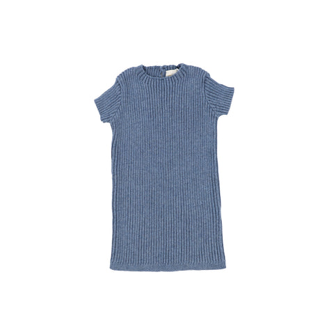 *Preorder* Lil Legs Blue Knit Top
