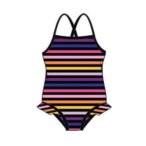Sonia Rykiel Elenor Striped Bathing Suit