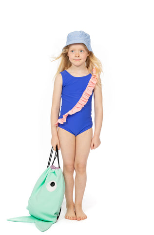 Wauw Capow India Blue Swimsuit