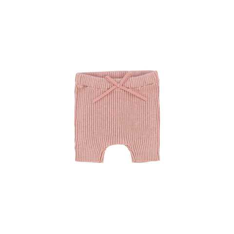 *Preorder* Lil Legs Pink Knit Shorts