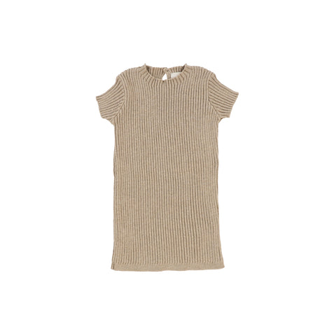 Lil Legs Oatmeal Knit Top