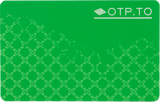 OCRA OTP Card - Green