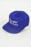 Peaceful Warrior - Blue Flexfit Snapback