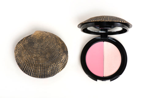 Sea Shell Compact Cheek Dual