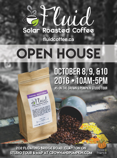 Fluid Solar Roasted Coffee - Open House