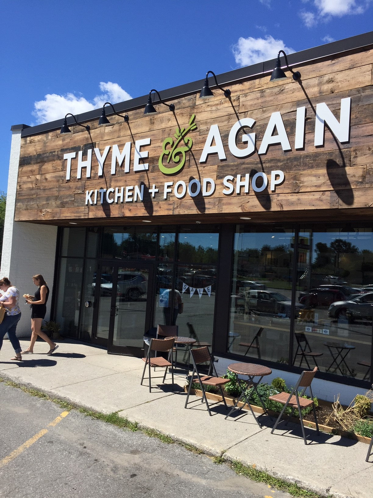 Fluid Coffee Welcomes Thyme & Again