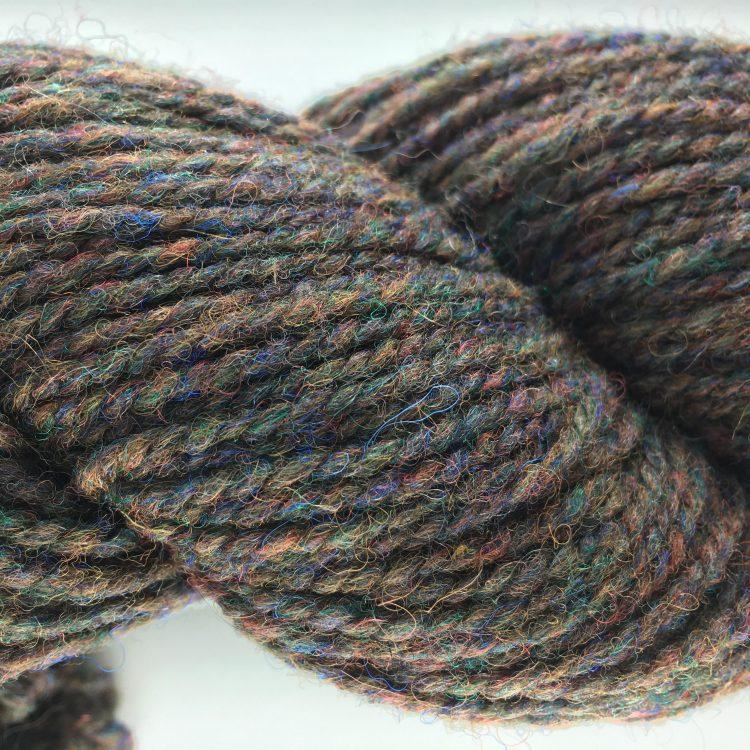 New! Bulky (3 ply) Atlantic Yarn - Brown Heather