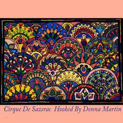 Cirque de Sazerac - Seaside Rug Hooking Company Pattern