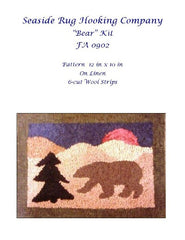 Bear Kit - Seaside Rug Hooking Company Kit