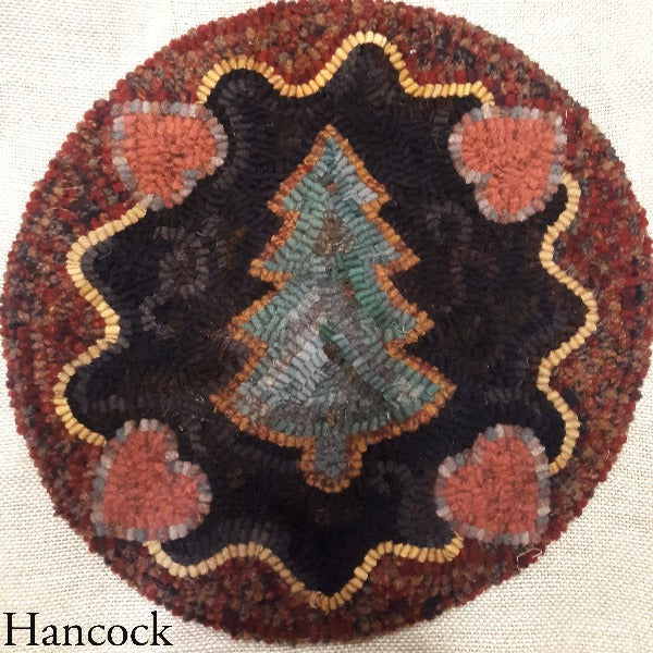 Hancock Chair Pad - Seaside Rug Hooking Company Pattern