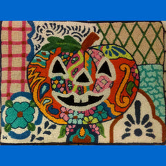 Talavera Pumpkin Pattern - Seaside Rug Hooking Company Pattern