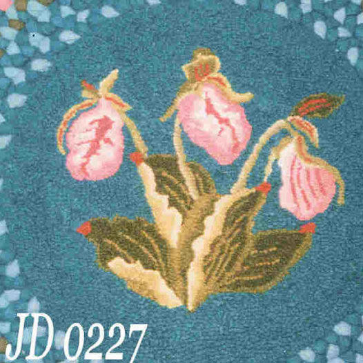 Ladyslippers - Seaside Rug Hooking Company Pattern