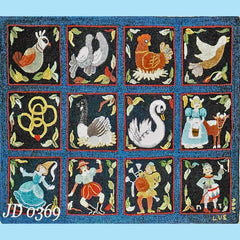 Twelve Days of Christmas - Seaside Rug Hooking Company