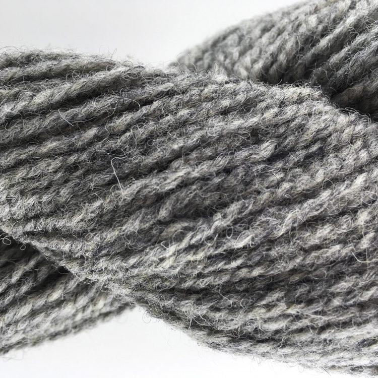 Super Bulky  (4 ply) Yarn - Light Grey