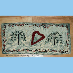 Lost Love - Seaside Rug Hooking Company Pattern