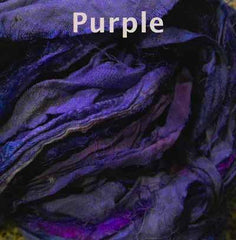 Sari Silk Ribbon Purple