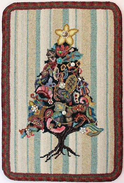 Sazerac Tree - Seaside Rug Hooking Company Pattern